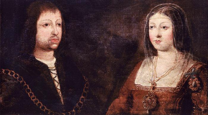 Король Фердинанд и королева Изабелла