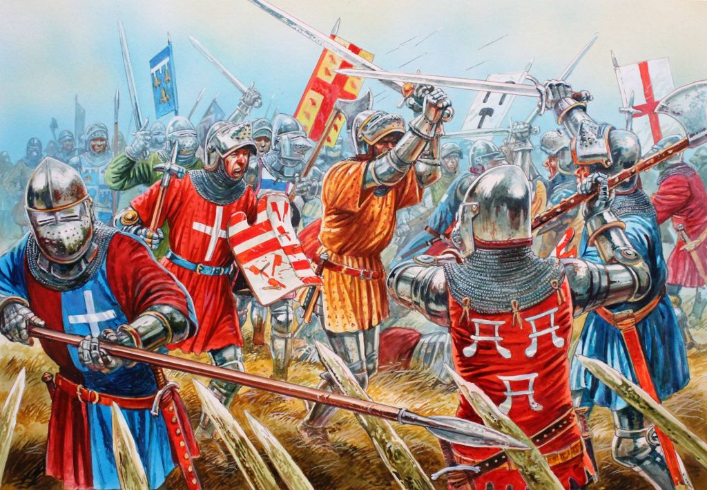 История Битвы при Азенкуре